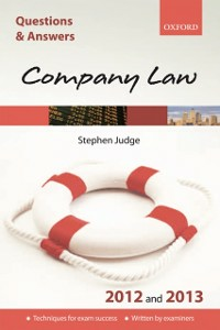 Ebook in inglese Q & A Revision Guide: Company Law 2012 and 2013 Judge, Steve