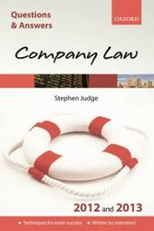 Q & A Revision Guide: Company Law 2012 and 2013