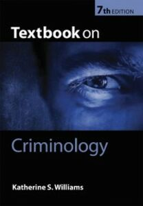 Ebook in inglese Textbook on Criminology Williams, Katherine S.