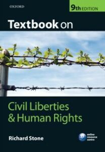 Ebook in inglese Textbook on Civil Liberties and Human Rights Stone, Richard