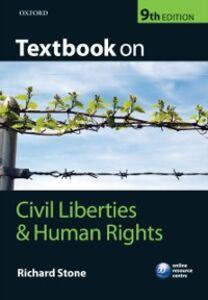 Foto Cover di Textbook on Civil Liberties and Human Rights, Ebook inglese di Richard Stone, edito da OUP Oxford