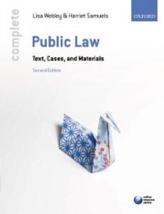 Ebook in inglese Complete Public Law Samuels, Harriet , Webley, Lisa