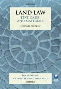 Foto Cover di Land Law: Text, Cases, and Materials, Ebook inglese di AA.VV edito da OUP Oxford