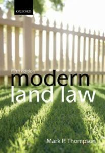Ebook in inglese Modern Land Law Thompson, Mark P.