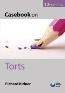 Ebook in inglese Casebook on Torts Kidner, Richard