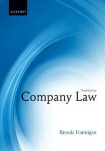 Ebook in inglese Company Law Hannigan, Brenda