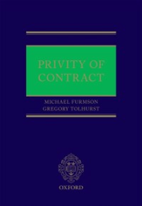 Ebook in inglese Privity of Contract Furmston, Michael , Tolhurst, Gregory