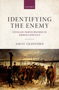 Ebook in inglese Identifying the Enemy: Civilian Participation in Armed Conflict Crawford, Emily