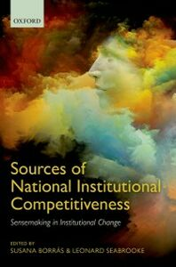 Ebook in inglese Sources of National Institutional Competitiveness: Sensemaking in Institutional Change -, -