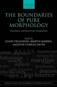 Foto Cover di Boundaries of Pure Morphology: Diachronic and Synchronic Perspectives, Ebook inglese di  edito da OUP Oxford