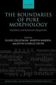 Ebook in inglese Boundaries of Pure Morphology: Diachronic and Synchronic Perspectives -, -