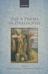 Ebook in inglese A Priori in Philosophy -, -