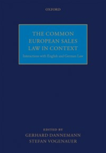 Ebook in inglese Common European Sales Law in Context: Interactions with English and German Law -, -