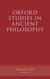 Ebook in inglese Oxford Studies in Ancient Philosophy, Volume 45 -, -