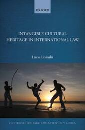 Intangible Cultural Heritage in International Law