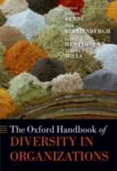 Oxford Handbook of Diversity in Organizations
