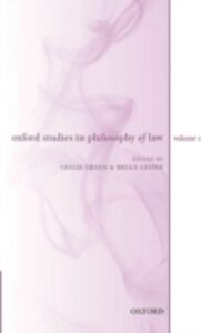 Ebook in inglese Oxford Studies in Philosophy of Law: Volume 2