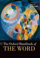Oxford Handbook of the Word