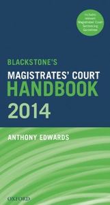 Ebook in inglese Blackstone's Magistrates' Court Handbook 2014 Edwards, Anthony