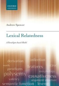 Ebook in inglese Lexical Relatedness Spencer, Andrew