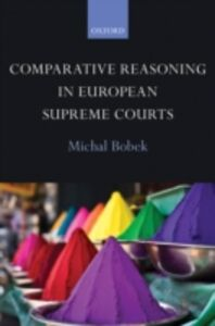 Ebook in inglese Comparative Reasoning in European Supreme Courts Bobek, Michal