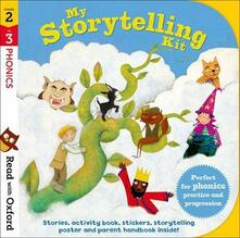 Read with Oxford: Stages 2-3: Phonics: My Storytelling Kit - Alison Hawes,David Bedford,Katie Adams - cover