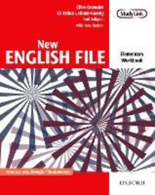 New English File: Elementary: Workbook: Six-level general English course for adults - Clive Oxenden,Christina Latham-Koenig,Paul Seligson - cover