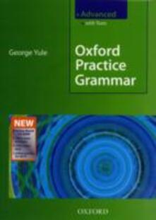 Oxford practice grammar. Advanced. Pack. Student's book. With key. Con Boost CD-ROM