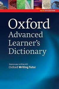 Oxford Advanced Learner's Dictionary, 8th Edition: Paperback - cover