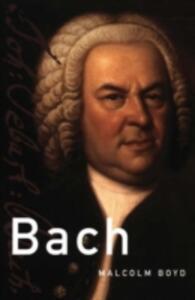 Bach - Malcolm Boyd - cover
