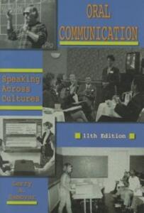 Oral Communication: Speaking Across Cultures - Larry A Samovar - cover