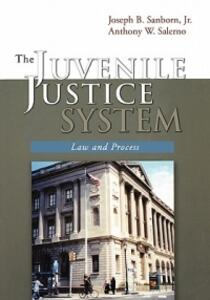 The Juvenile Justice System: Law and Process - Joseph B. Sanborn,Anthony W. Salerno - cover