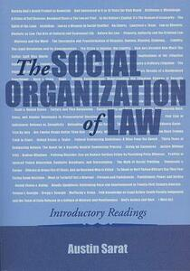 The Social Organization of Law: Introductory Readings - cover