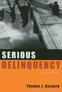 Serious Delinquency: An Anthology - cover