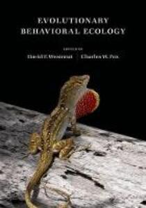 Evolutionary Behavioral Ecology - cover