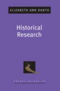 Historical Research - Elizabeth Ann Danto - cover
