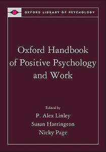 Oxford Handbook of Positive Psychology and Work - cover