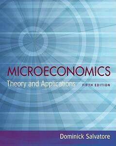 Microeconomics: Theory and Applications - Dominick Salvatore - cover