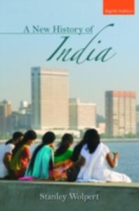 A New History of India - Stanley Wolpert - cover
