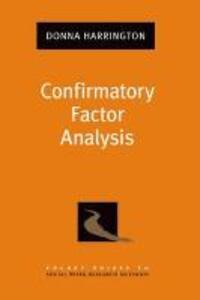 Confirmatory Factor Analysis - Donna Harrington - cover