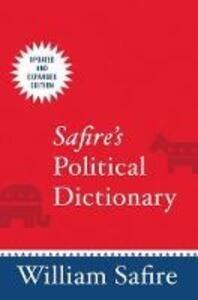 Safire's Political Dictionary - cover