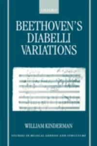 Beethoven's Diabelli Variations - William Kinderman - cover