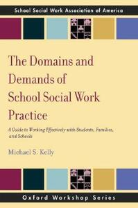 The Domains and Demands of School Social Work Practice: A Guide to Working Effectively with Students, Families and Schools - Michael S. Kelly - cover