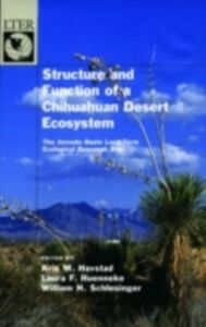 Foto Cover di Structure and Function of a Chihuahuan Desert Ecosystem: The Jornada Basin Long-Term Ecological Research Site, Ebook inglese di  edito da Oxford University Press