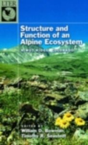 Ebook in inglese Structure and Function of an Alpine Ecosystem: Niwot Ridge, Colorado -, -
