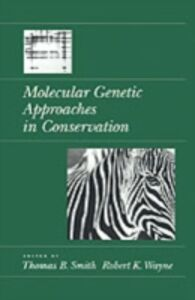 Ebook in inglese Molecular Genetic Approaches in Conservation