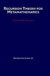 Ebook in inglese Recursion Theory for Metamathematics Smullyan, Raymond M.