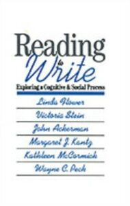 Ebook in inglese Reading-to-Write: Exploring a Cognitive and Social Process Flower, Linda , Kantz, Margaret J. , McCormick, Kathleen , Peck, Wayne C.