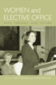Ebook in inglese Women and Elective Office Past, Present, and Future 2/e SUE, THOMAS