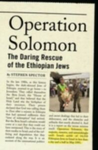 Ebook in inglese Operation Solomon: The Daring Rescue of the Ethiopian Jews Spector, Stephen